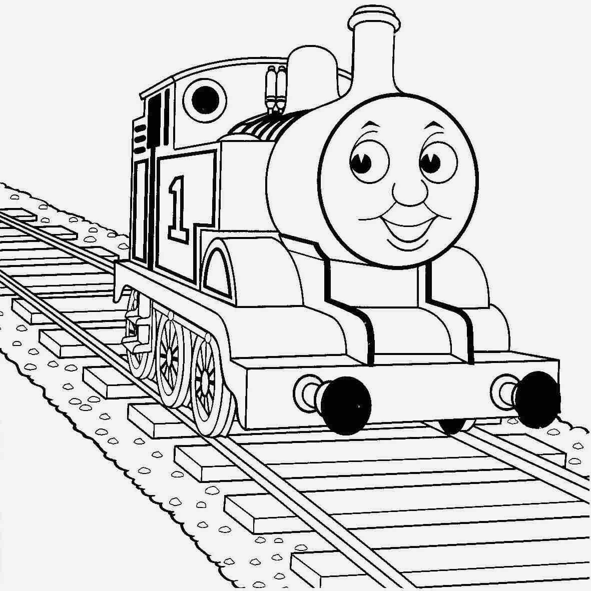 Coloring Pages Thomas the Train  to Print 14t - Free For Children