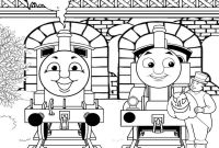 Coloring Pages Thomas the Train - Thomas Coloring Page 14 with Thomas Coloring Page