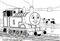 Coloring Pages Thomas the Train - Thomas the Train Coloring Page 4720