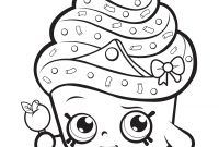 Coloring Pages Tsum Tsum - Cupcake Queen Exclusive to Color Coloring Pages Printable