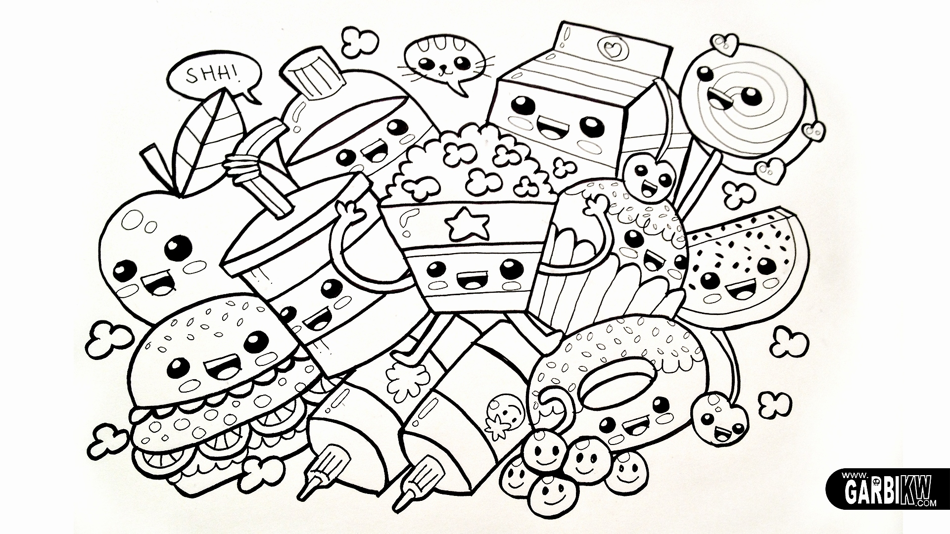 Coloring Pages Tsum Tsum  Gallery 9m - Free Download