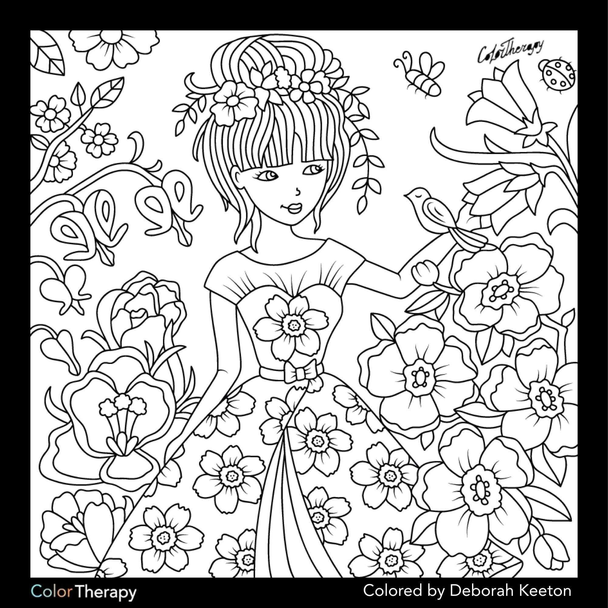 Coloring Pages Women  Download 14o - To print for your project