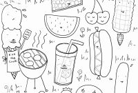 Cooking Coloring Pages - Best Pusheen Coloring Pages