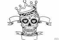 Cool Skull Coloring Pages - 60 Beautiful Sugar Skull Girl Coloring Pages Printable
