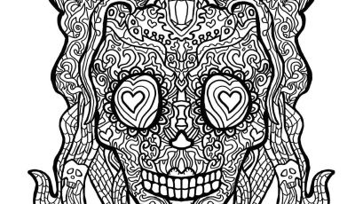Cool Skull Coloring Pages - New Skull Coloring Pages for Adults Flower Coloring Pages
