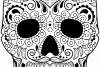 Cool Skull Coloring Pages - Printable Skull Coloring Pages for Adults Beautiful Skull Coloring
