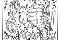 Coral Reef Coloring Pages - Coloring Pages Exquisite Ocean Coloring Pages for Adults Best