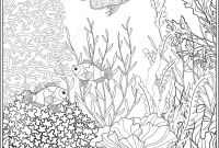 Coral Reef Coloring Pages - Coral Outline Pattern