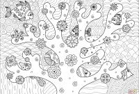 Coral Reef Coloring Pages - Coral Reef Coloring Page Coloring Pages for Children
