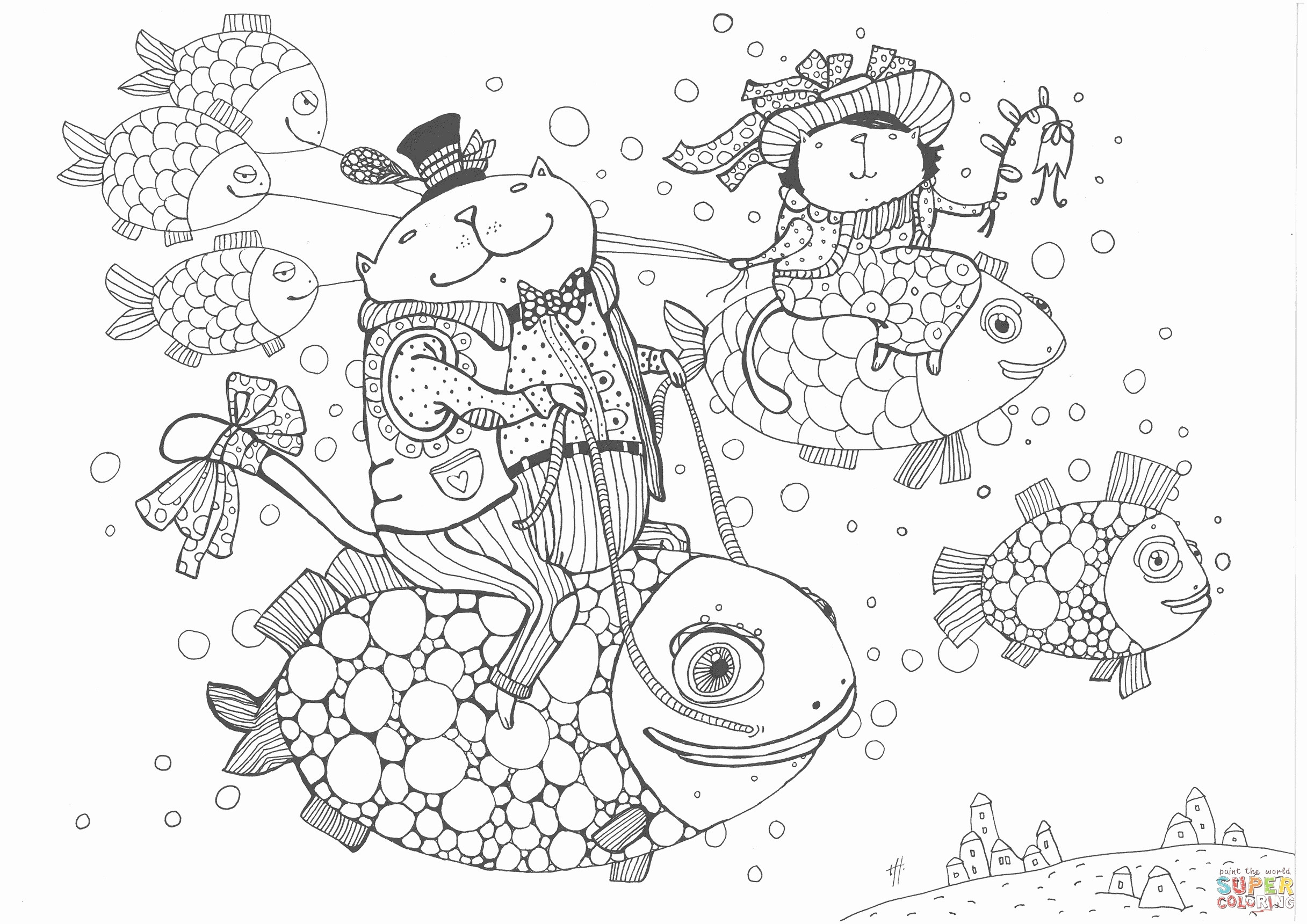Coral Reef Coloring Pages  Collection 8l - To print for your project