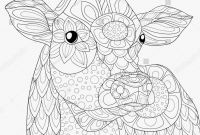 Cow Coloring Pages - Cow Coloring Pages for Adults