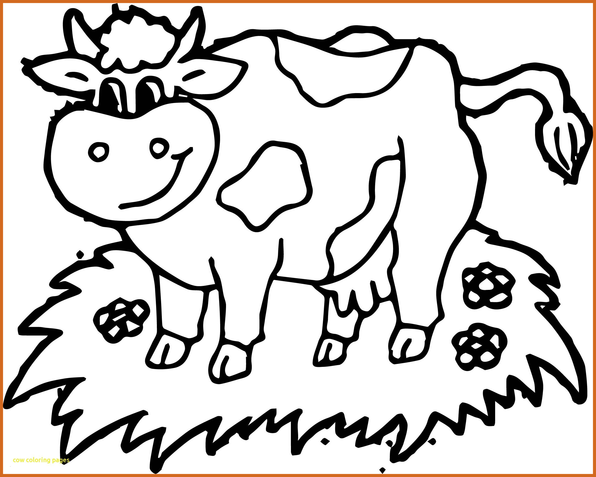 Cow Coloring Pages  to Print 10i - Free For kids