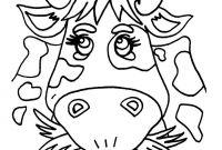 Cow Coloring Pages - Green Coloring Pages to Print