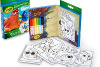 Crayola Mini Coloring Pages - Amazon Crayola Finding Dory Mini Coloring Pages toys & Games