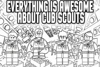 Cub Scout Coloring Pages - Cub Scout Clipart Color Cute Borders Vectors Animated Black and