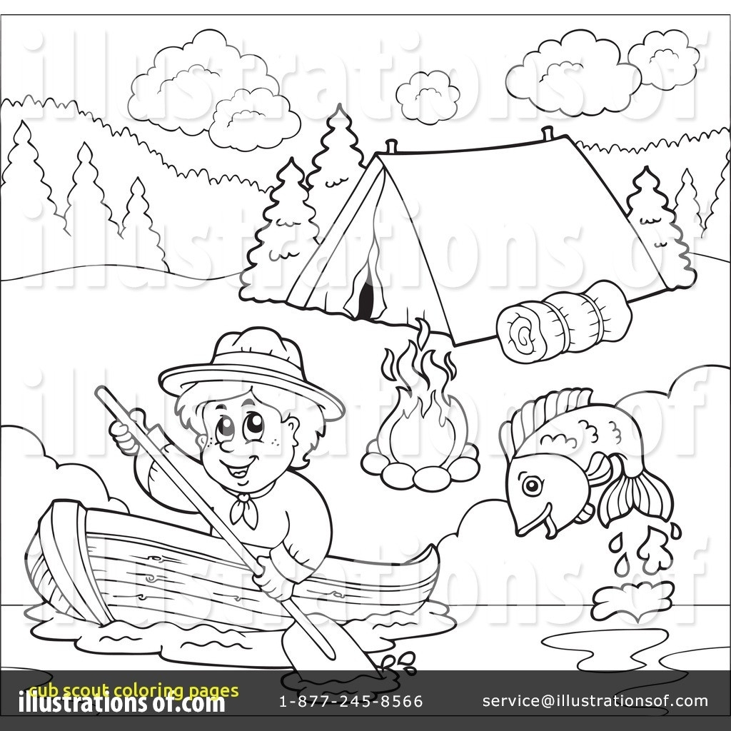 Cub Scout Coloring Pages Gallery | Free Coloring Sheets
