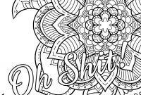 Cuss Words Coloring Pages - 20 Elegant Word Coloring Pages