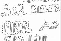 Cuss Words Coloring Pages - Quotes Coloring Pages Gallery thephotosync