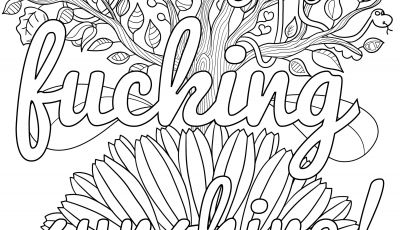 Cuss Words Coloring Pages - Swear Word Coloring Pages Printable Free Sweary Coloring Book Unique