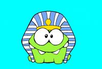 Cut the Rope Coloring Pages - Om Nom Time Travel Coloring Pages