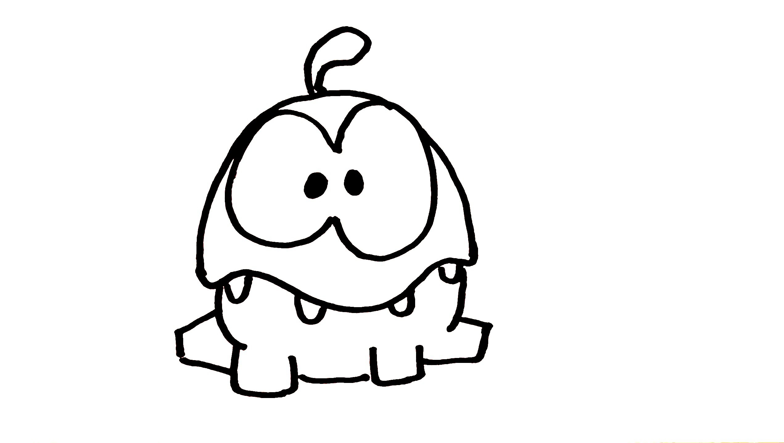 Cut the Rope Coloring Pages  Printable 2f - Free Download