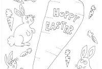 Cute Bunny Coloring Pages - Bunnies Coloring Page for Easter Pinterest
