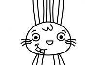 Cute Bunny Coloring Pages - Drawing Bunny Rabbit How to Draw Bunny Step by Step