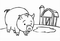 Cute Pig Coloring Pages - Baby Pig Coloring Pages Coloring Pages Coloring Pages