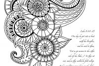 Daily Coloring Pages - Free Daily S Adult Coloring Pages with Scripture