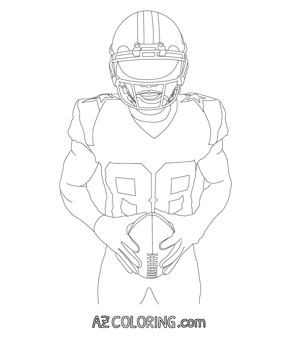 Dallas Cowboys Coloring Pages  to Print 9h - Free Download