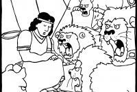 Daniel and the Lions Den Coloring Pages - Daniel In the Lions Den Coloring Pages Colorful Daniel Coloring