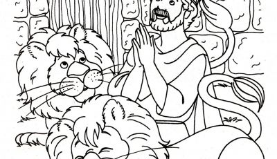 Daniel and the Lions Den Coloring Pages - Daniel In the Lions Den Coloring Pages Coloring Page Daniel In the