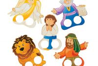 Daniel and the Lions Den Coloring Pages - Daniel & the Lions Den Finger Puppets Hand & Finger Puppets