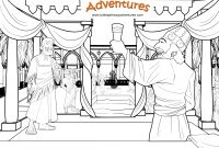 Daniel Coloring Pages Bible - Free Bible Coloring Page Party with the King Of Persia