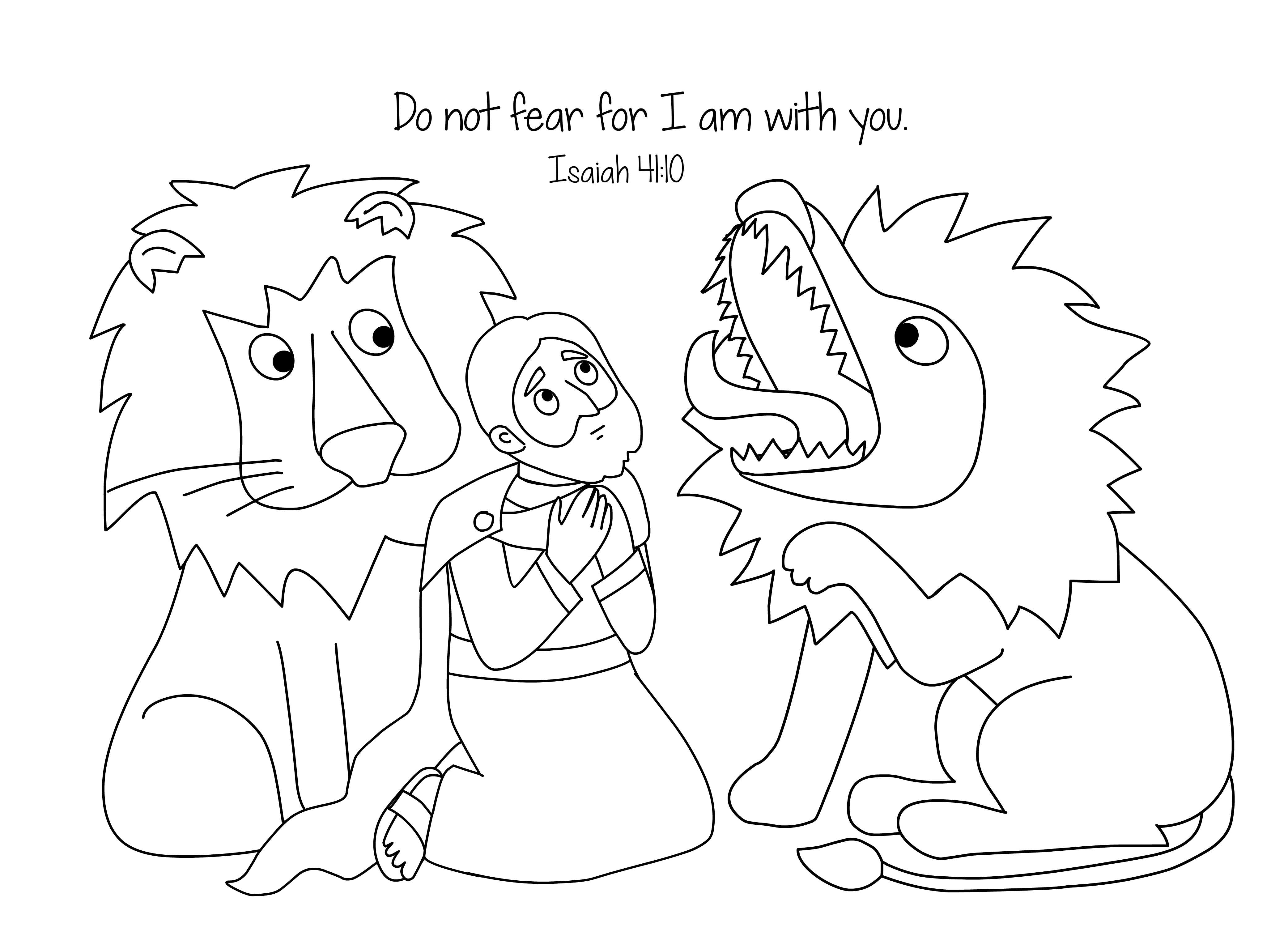 Daniel Coloring Pages Bible Gallery | Free Coloring Sheets