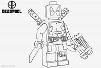 Deadpool Coloring Pages - Printable Mixel Coloring Pages
