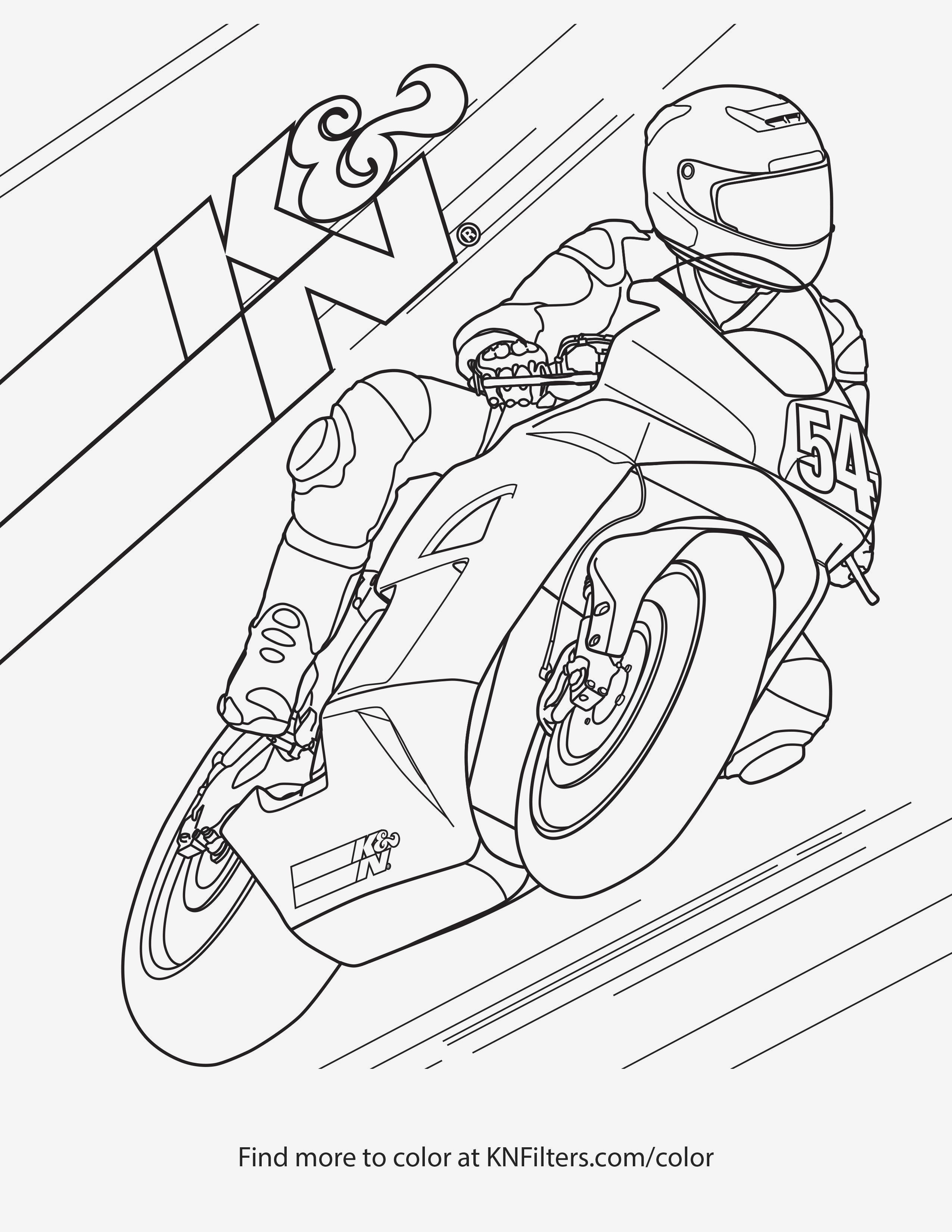 Dirt Bike Coloring Pages  Download 12c - Free Download