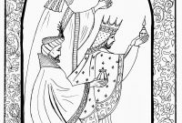 Disney Coloring Pages Pocahontas - Three Wise Men Coloring Page