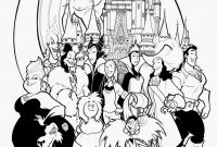 Disney Villains Coloring Pages - Disney Coloriage 18best Disney Villains Coloring Book Clip Arts