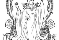 Disney Villains Coloring Pages - Disney Coloring Pages for Adults Free