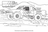 Dodge Ram Coloring Pages - K&n Printable Coloring Pages for Kids