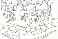 Doodle Art Coloring Pages - 257 Free Printable 4th Of July Coloring Pages