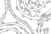 Doodle Art Coloring Pages - Abstract Coloring Pages Doodle Art Alley