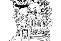 Doodle Art Coloring Pages - Free Coloring Page Coloring Doodle Art Doodling 9 Funny Doode Art