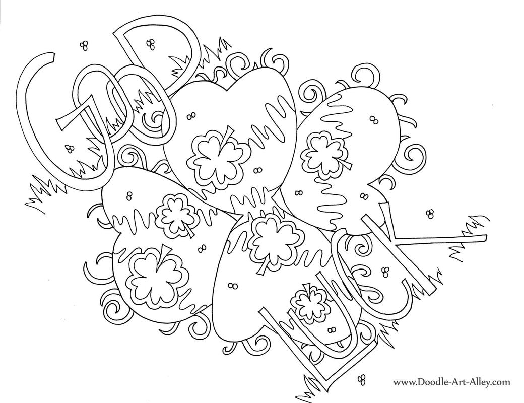 Doodle Art Coloring Pages  to Print 19j - To print for your project