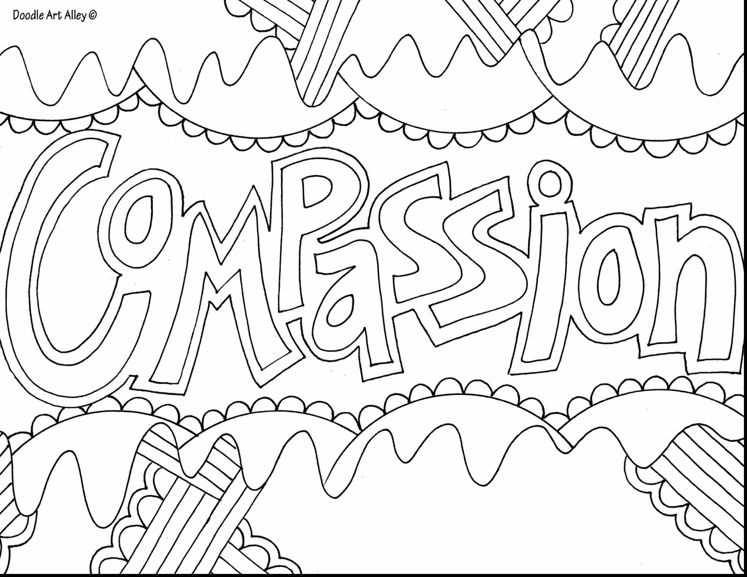 Doodle Art Coloring Pages  to Print 13l - Save it to your computer
