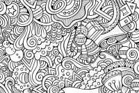 Doodle Coloring Pages - Inspirational Abstract Doodle Coloring Pages Katesgrove