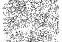 Doodle Coloring Pages - New Free Printable Art