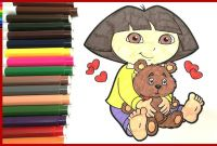 Dora and Friends Coloring Pages - Coloring Books for Kids How to Colour Dora Coloring Pages