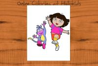 Dora and Friends Coloring Pages - Coloring Tutorial How to Color Dora and Boots Hellokids